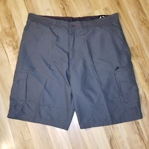 Burnside charcoal shorts size 42